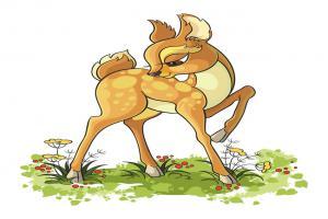骄傲的鹿的故事